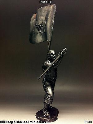 Pirate Tin toy soldier 54 mm, figurine, metal sculpture