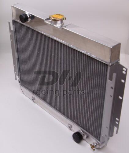 Polish 3 ROWS ALUMINUM RADIATOR 1964-67 CHEVY EL CAMINO//CHEVELLE L6//V8 DPI289