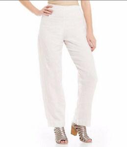 Bryn in Platte Pant crème Pantalon met Walker linnen licht ZCqwa4Z