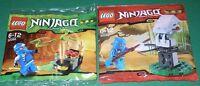 2x Lego Ninjago 2x Ninja Jay Mit Waffen Und Zubehör Ovp