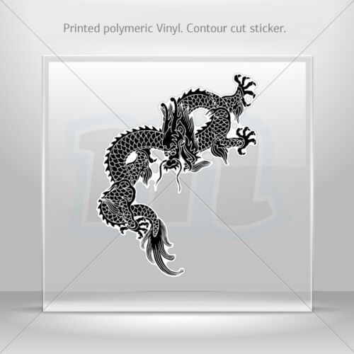 Decals autocollant Dragon Arts Martiaux Voiture Moto Vélo Garage st5 RS64X