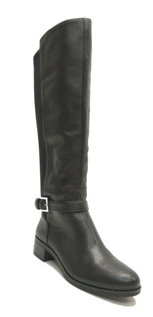 Alfani Womens Hakuu Suede Wide Calf Pointed Toe Knee-High Boots Shoes BHFO 3273
