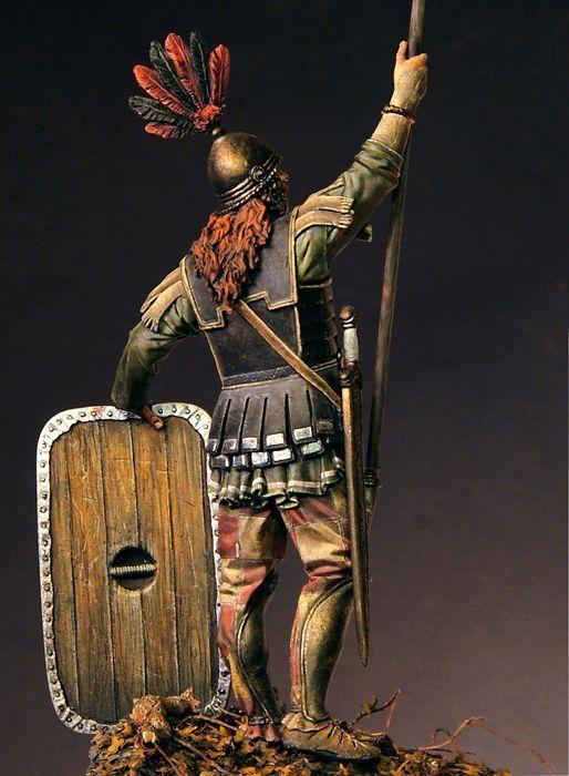 Tin soldier, Museum, Celtic warrior, warrior, warrior, Soldier,Galatia, Greece, Balkan, Rome, 90mm 70e9ed