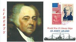 John-Adams-Barco-Llamado-2nd-Americano-President-1797-1801-Retrato-C27p-Pm