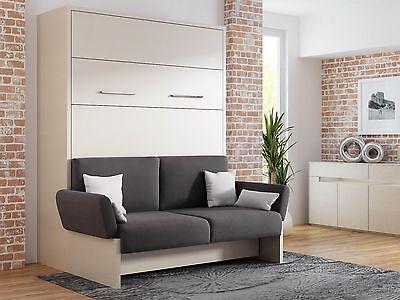Schrankbett Mit Sofa lit escamotable collection on ebay