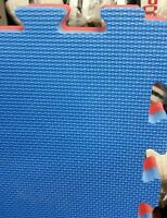64 Martial Arts Karate MMA Judo Kick Boxing 20mm Thick Gym Floor Mats