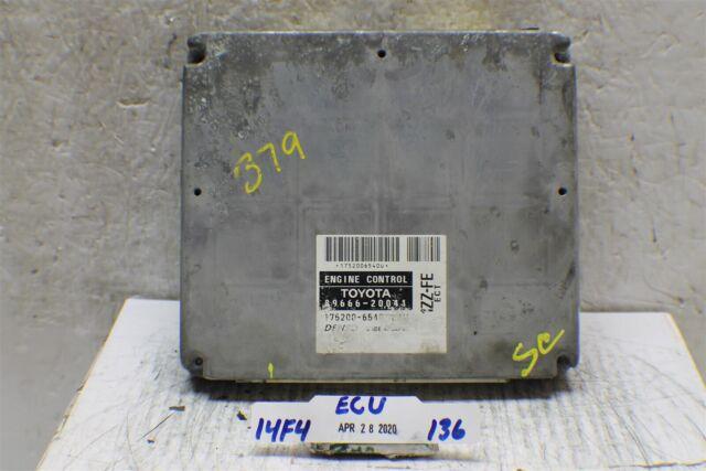 2000 Toyota Celica Engine Computer Unit 8966620041 Ecu 136