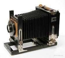 Gundlach Korona ? 4x5  Folding Bed View Camera w/ Velostigmat Lens (1014-5)