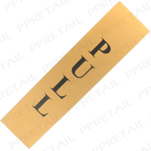 Self Adhesive PULL GOLD//BLACK DOOR SIGN Office//Bar//Restaurant//Entrance//Exit