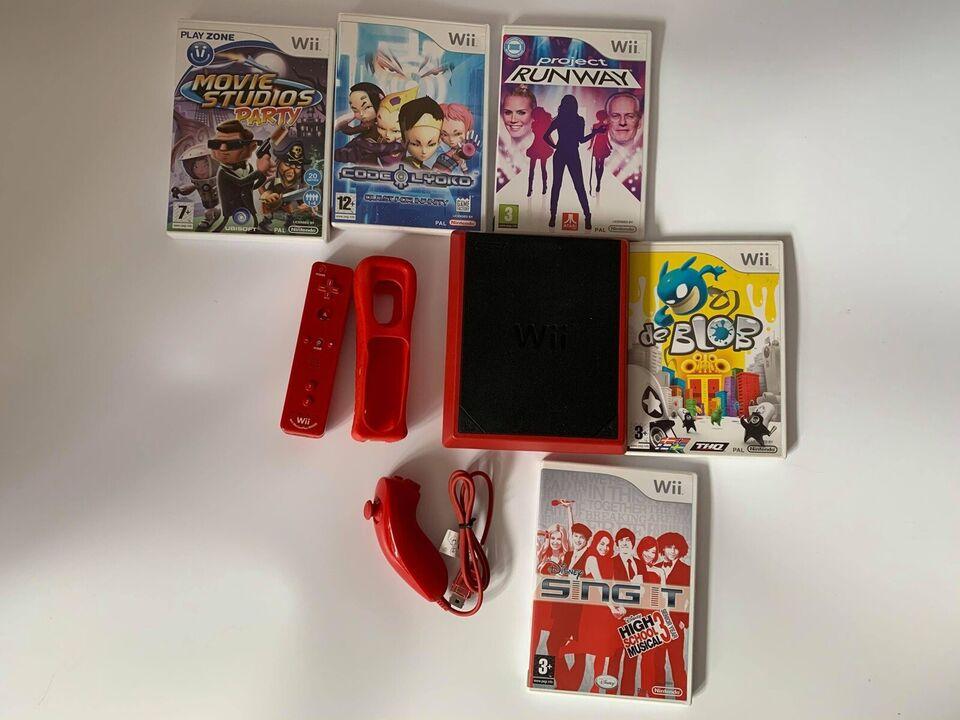 Nintendo Wii, Wii mini sæt med 6 spil