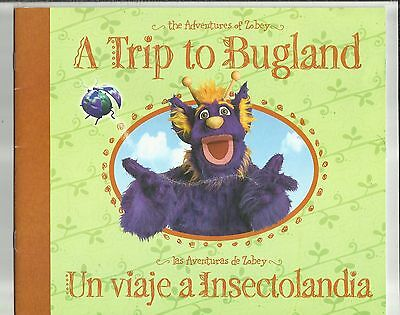 2007 A Trip To Bugland The Adventures of Zobey English/Spanish Paperback Book TX