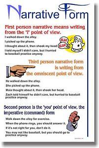 Narrative form answers?