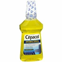 2 Pack Cepacol Mouthwash Gold Antibacterial Mouthwash 24 Oz Each on sale