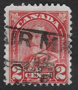 CANADA 1930 - 1931  King George V 2c  Carmine (HBX)
