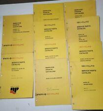 Lot Of 10 New Holland Service Parts Catalog Spreader Grinder Mixer Tedders 1
