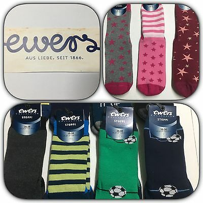 Ewers Stoppi, Stoppersocken, Fliesenflitzer, Homesocks, ABS-Socks, Gr. 35-38 NEU