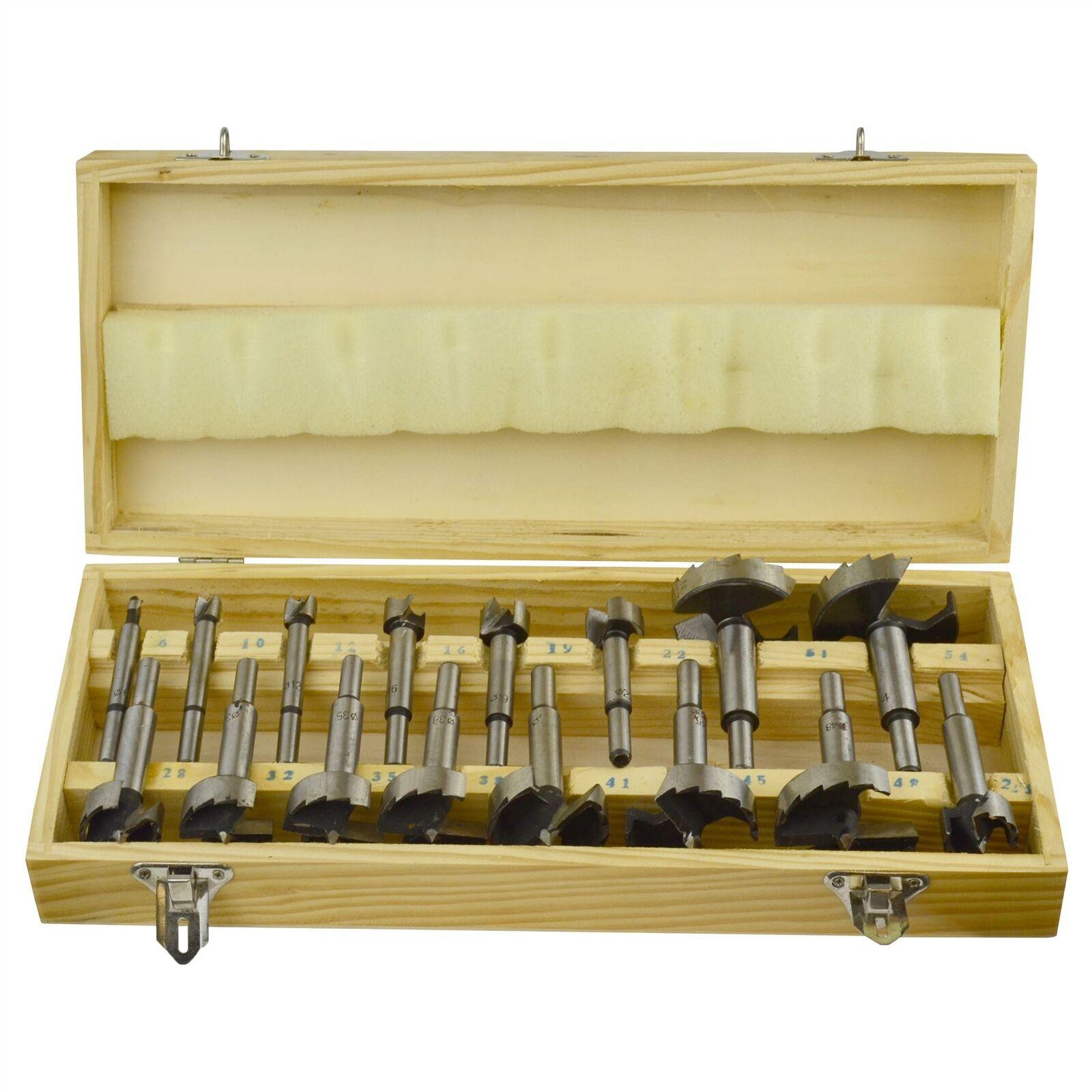 16PC Juego de brocas Forstner de brocas para madera     aburrido Juego de punta