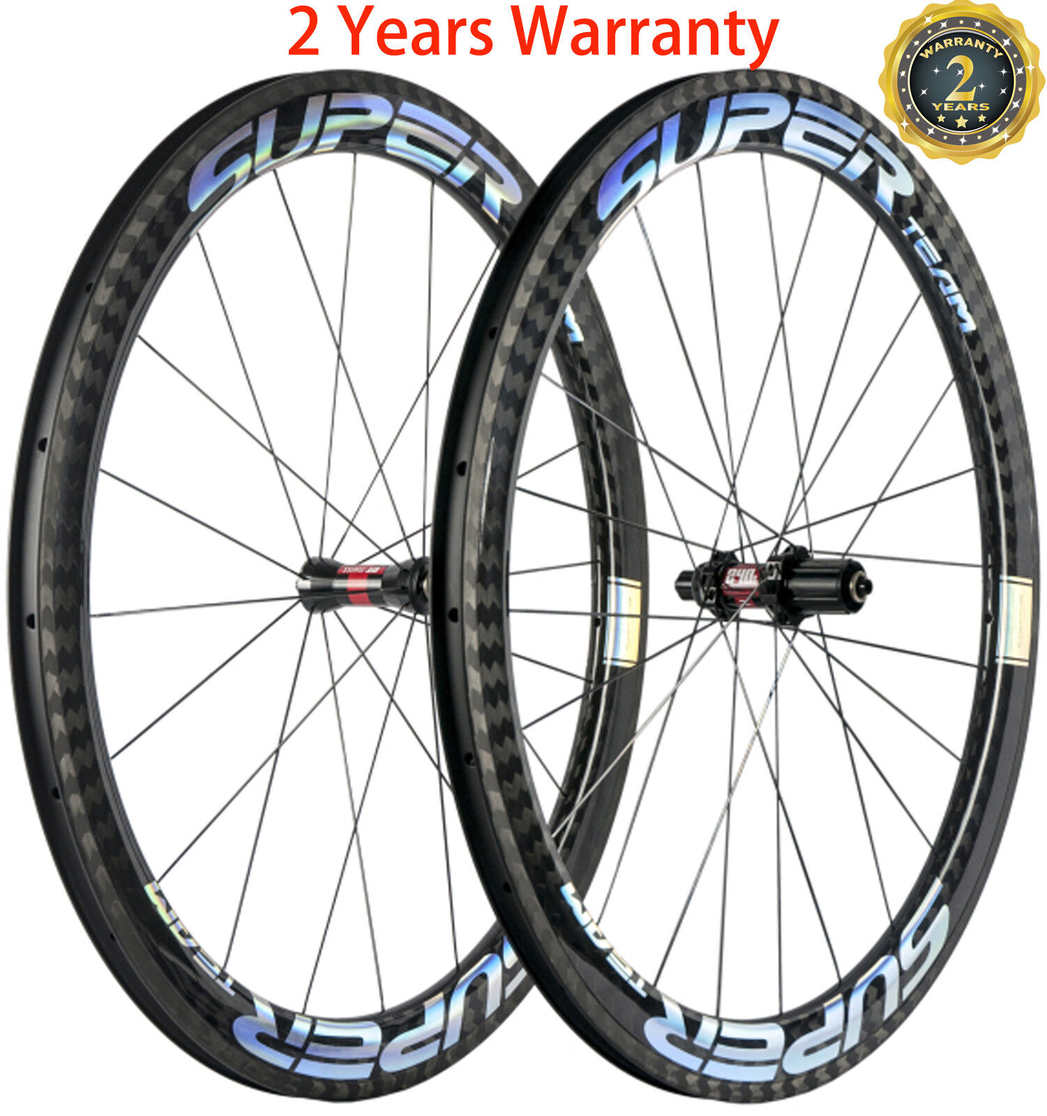 Superteam 50mm Carbon Wheels Road Bike DT240s Hub 23 25mm  Width Bicycle Wheelset  new style