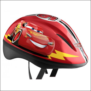Casque-Cars-ajustable-rouge-garcon-taille-S-54-56cm-Marque-Stamp