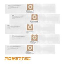 2 Replacements for Ridgid VF3502 POWERTEC 7500 Wet//Dry Allergan Vacuum Bags