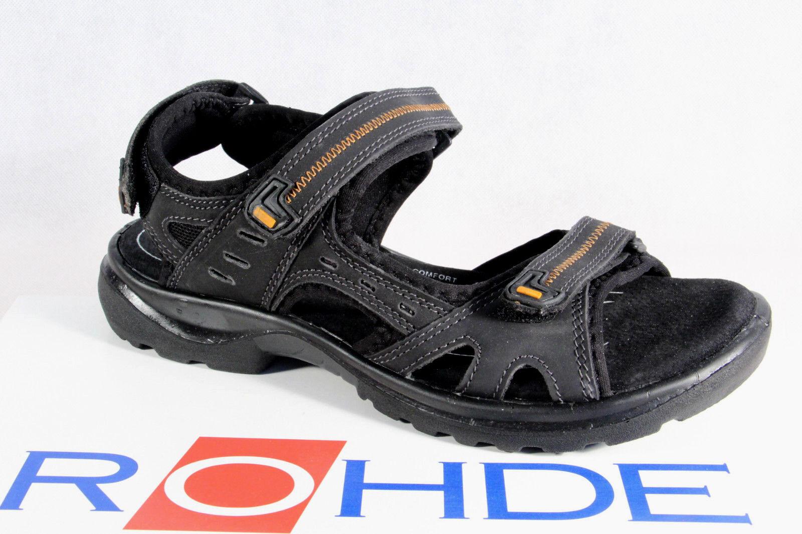 Rohde Women's Sandals Sandals Black Sneakers Width G Black Sandals New 7efc02