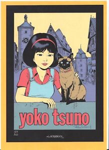LELOUP-YOKO-TSUNO-RARISSIME-SERIGRAPHIE-N-Signe-NEUF