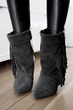 Last Chance - On Sale!! Isabel Marant For HM H&M Fringe Boots