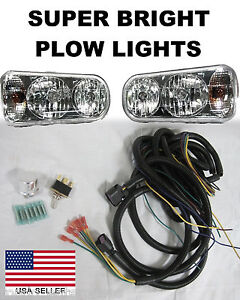 Snow plow light hook up