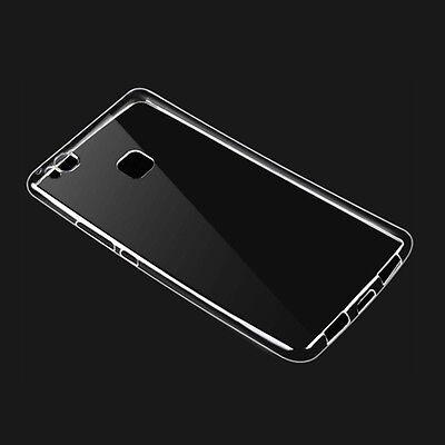 2Pcs Huawei Phone Ultra-Thin Clear Soft Silicone TPU Gel Transparent Cover Case