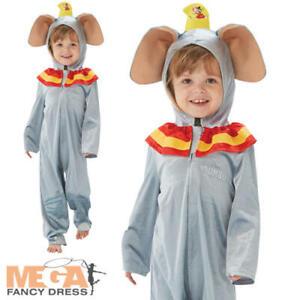 Dumbo Kids Fancy Dress Disney Circus Animal Garçons Filles éléphant Costume Outfit-afficher Le Titre D'origine