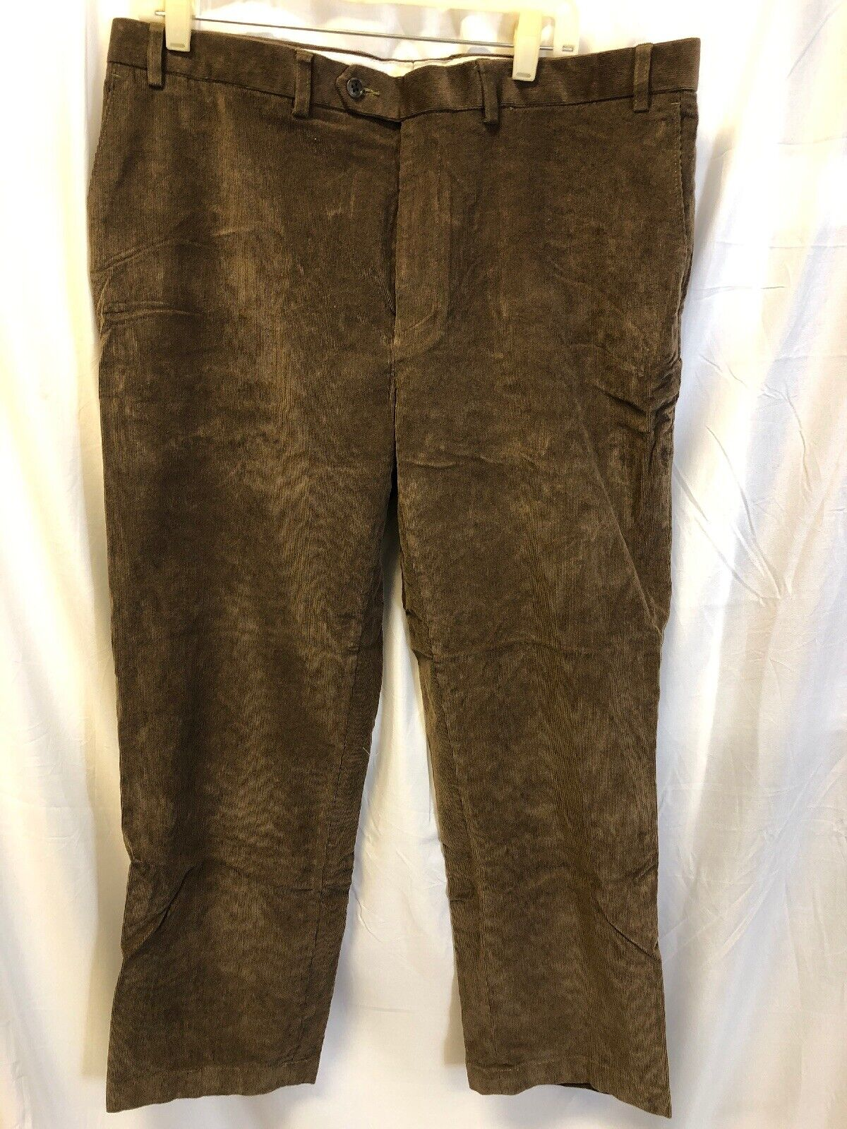 LAUREN RALPH LAUREN 38W x 32L Men's Tan Medium Brown Corduroy Pants