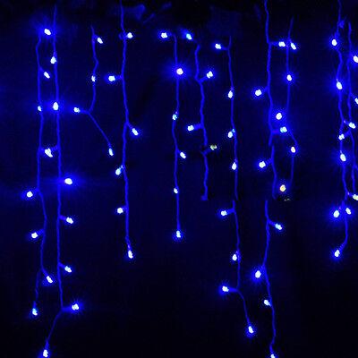 Noël 96Led Lampes cordes fées étanche Jardin Xmas Tree Lumières de mariage Lampe
