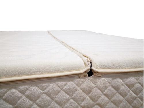 180x200 bzw 200x220 cm Wasserbett Hardside Frottee Luxus Bezug Kingsize