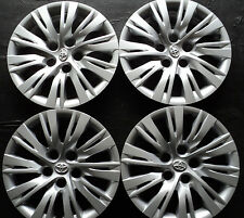 "FOUR 16"" 2007- 2014 ORIGINAL OEM TOYOTA CAMRY HUBCAPS RIM WHEEL COVERS 570-61163"
