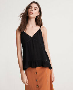 Superdry Womens Summer Lace Cami Top