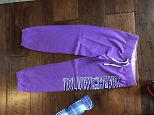 how to orders beautiful and charming shades of Details about Justice Purple Sweats in Girls Size 12