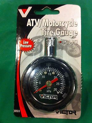 Tusk ATV UTV Motorcycle Low Pressure Tire Gauge Honda Yamaha KTM New Tool