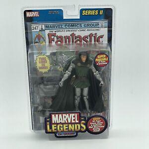 Marvel Legends Dr Doom Super Poseable Series 2 II Fantastic Four Comic Toy Biz