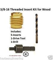 E-z Lok 3/8-16 Threaded Insert Installation Kit For Wood E-z Lok P/n Ez-400-6