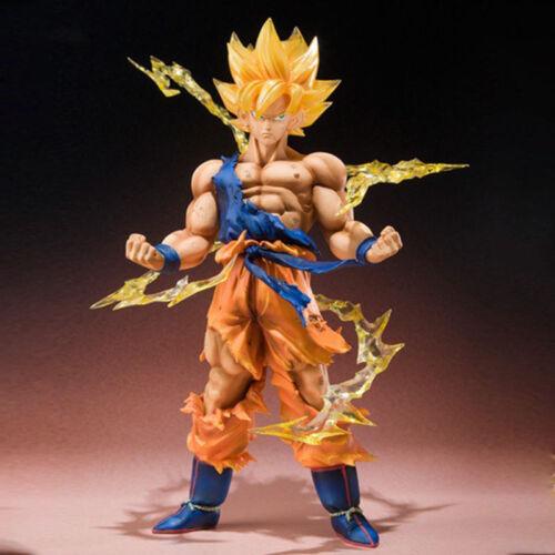 """6/"""" SON GOKU Dragon Ball Z Super Saiyan Anime Model Figure Collection Toys NEW"""