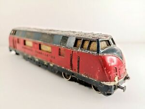 OO-Gauge-Marklin-Diesel-Locomotive-Br-216-025-7-Red-DB-Ep-IV