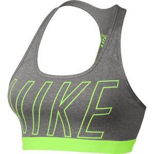 cfb7198a212f0 Nike Women s Pro Classic Strappy Logo Padded Sports Bra 847570-063 ...