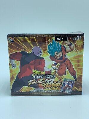 FRANCAIS tcg dragon ball super the tournament of power BOOSTER FRANCAIS