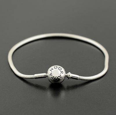 Authentic Genuine Pandora Silver Essence Collection Bracelet 17cm - 596000-17