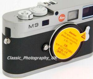 Actif Leica M9 10705 Acier Gris Nouveau Capteur Monté Sept. 2017 ** Bas Shutter Count 3584-afficher Le Titre D'origine Les Couleurs Sont Frappantes