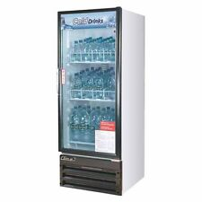 Turbo Air Tgm 11rv N6 Refrigerator 1 Door Swing Glass Merchandiser White Cabine