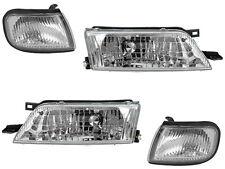 Headlight Headlamp Corner Light Lamp Kit Set for 97-99 Nissan Maxima