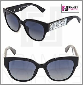 78f85d79439e Image is loading CHRISTIAN-DIOR-MERCURIAL-Black-Silver-Crystal-Floral-Mirror -