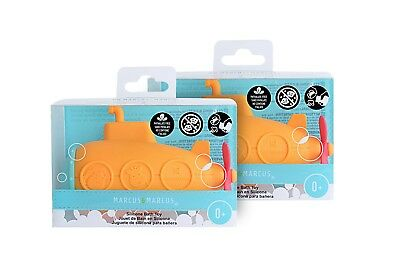 Hearty Mold Free Bath & Beach Toy Submarine By Marcus & Marcus - Package Of 2 Strong Packing