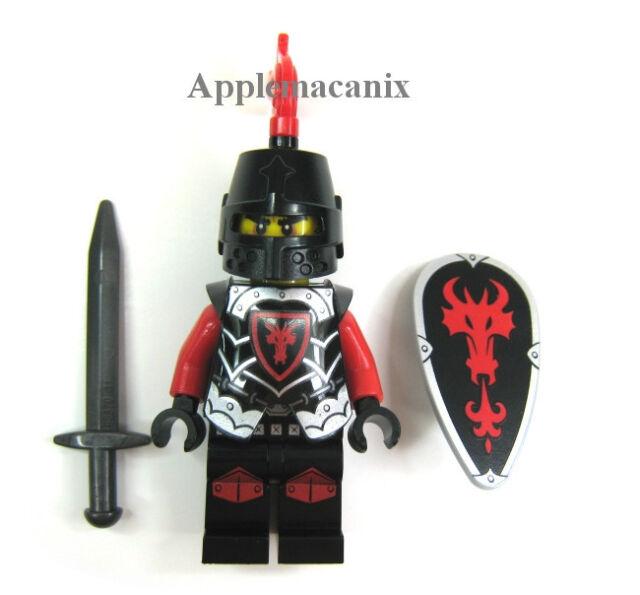 NEW LEGO 70402 Castle The Gatehouse Raid RED DRAGON KNIGHT Minifigure w/Armor